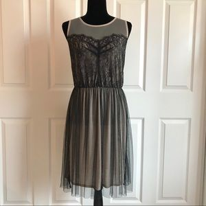 Dresses & Skirts - Black Tulle and Lace Dress